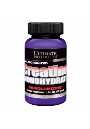 Creatine Monohydrate 120 гр. (Ultimate Nutrition)