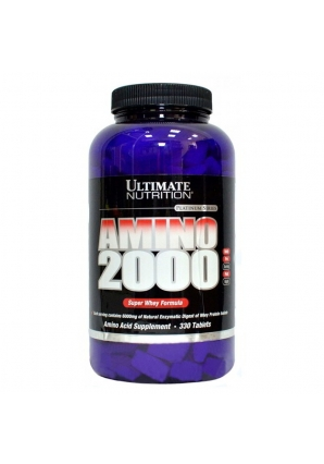 Super Whey Amino 2000 330 табл. (Ultimate Nutrition)