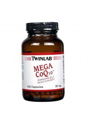 Mega CoQ10 30 мг 100 капс (Twinlab)