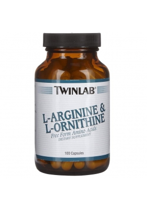 L-Arginine & L-Ornithine 100 капс (Twinlab)