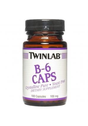 B-6 100 мг. 100 капс. (Twinlab)