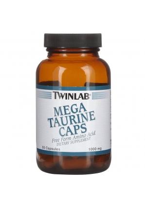 Mega Taurine 50 капс (Twinlab)