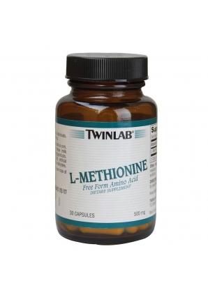 L-Methionine 500 мг 30 капс (Twinlab)