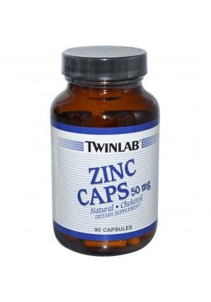 Zinc 50 мг 90 капс (Twinlab)
