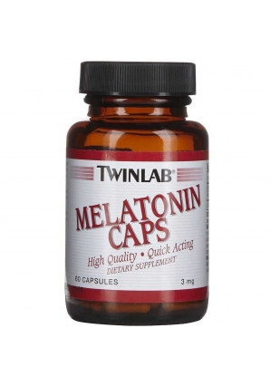 Melatonin 3 мг 60 капс (Twinlab)