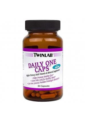 Daily One Caps 60 капс с железом (Twinlab)