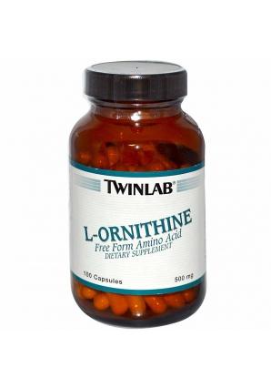 L-Ornithine 100 капс (Twinlab)