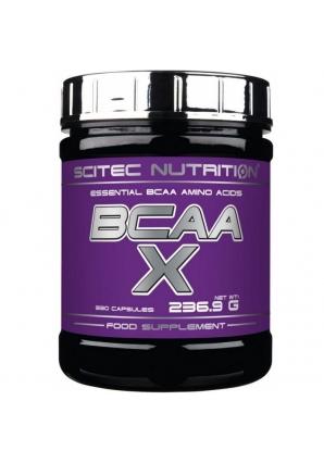 BCAA-X 330 капс (Scitec Nutrition)