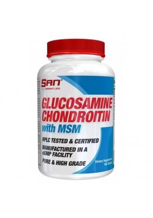 Glucosamine Chondroitin MSM 180 табл (SAN)
