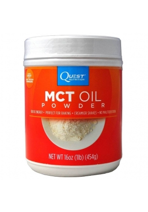 MCT Oil Powder 1lb - 454 гр (Quest Nutrition)