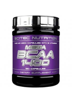 Mega BCAA 1400 180 капс (Scitec Nutrition)