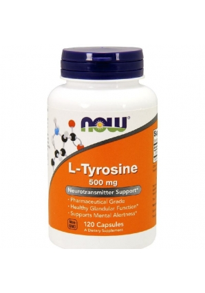 L-Tyrosine 500 мг 120 капс (NOW)