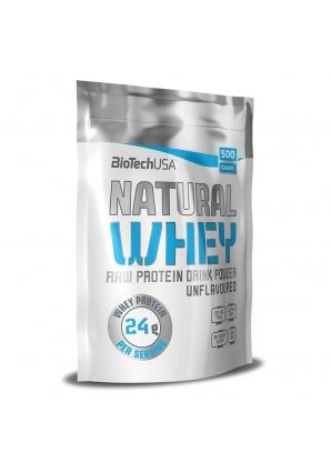 Natural Wey 500 гр (BioTechUSA)