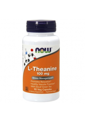 L-Theanine 100 мг 90 капс (NOW)