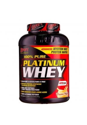 100% Pure Platinum Whey 2240 гр. 5lb (SAN)