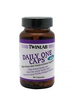 Daily One Caps 90 капс с железом (Twinlab)