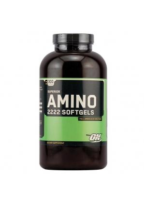 Superior Amino 2222 - 300 гель-капс. (Optimum nutrition)