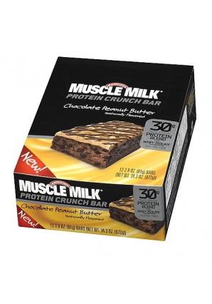 Muscle Milk Protein Crunch Bar 12 шт 81 гр (Cytosport)