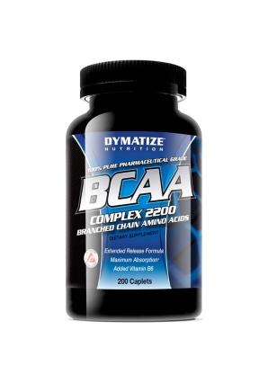 BCAA Complex 2200 200 табл. (Dymatize)
