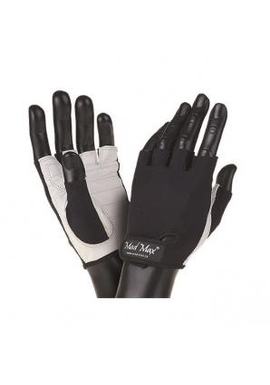 Перчатки Basic MFG250 бело-черные (Mad Max)
