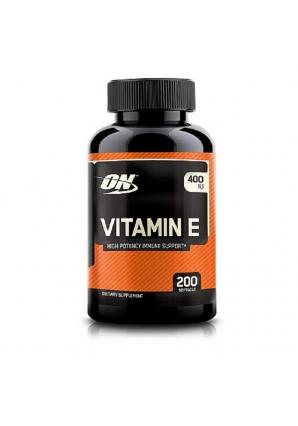 Vitamin E 400 200 капс (Optimum nutrition)