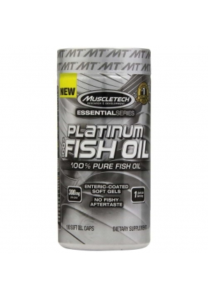 Essential 100% Fish Oil 100 капс (MuscleTech)