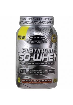 Platinum 100% Iso Whey 812 гр - 1.76lb (Muscletech)