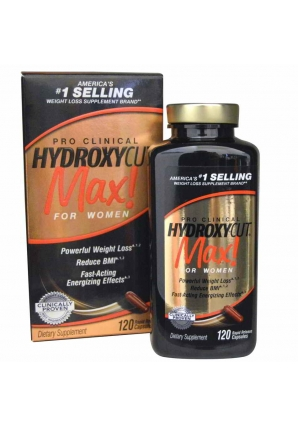Hydroxycut Max Pro Clinical For Women 120 капс (MuscleTech)