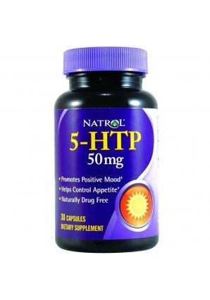 5-HTP 50 мг 30 капс (Natrol)