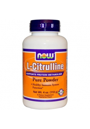 L-Citrulline Powder 113 гр (NOW)