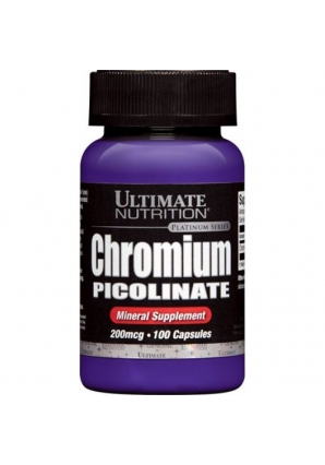 Chromium Picolinate 200 мкг 100 капс (Ultimate Nutrition)