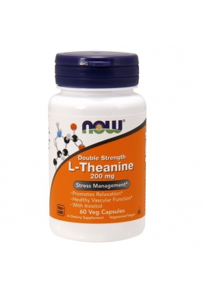 L-Theanine 200 мг 60 капс (NOW)