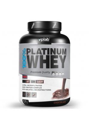100% Platinum Whey 2300 гр (VPLab)