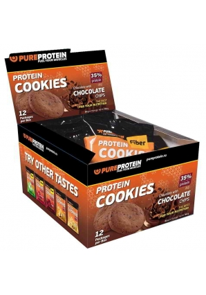 Protein Cookies 35% 12 шт 80 гр (Pure Protein)