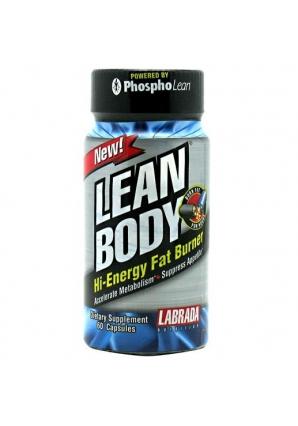 Lean Body Hi-Energy Fat Burner 60 капс (Labrada)