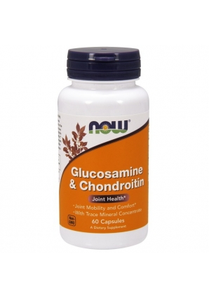 Glucosamine Chondroitin 60 капс (NOW)
