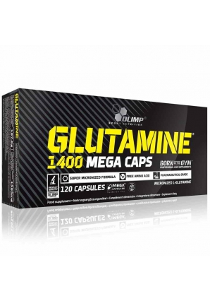 Glutamine Mega Caps 120 капс (Olimp)