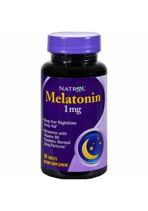 Melatonin 1 мг 180 табл (Natrol)