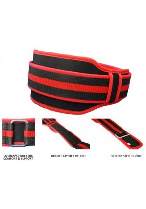Пояс двойной, красный (Trec Wear)