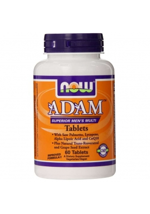 ADAM Superior Men's Multiple Vitamin 60 табл (NOW)