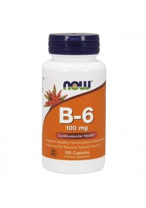 B-6 100 мг 100 капс (NOW)