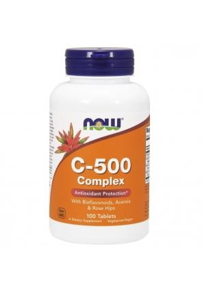 C-500 Complex 100 табл (NOW)