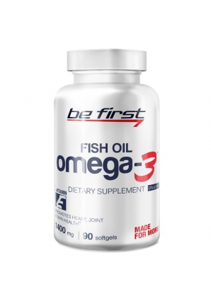 Omega-3 + Витамин E 90 гел. капс. (Be First)