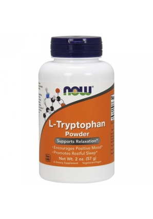 L-Tryptophan Powder 57 гр (NOW)