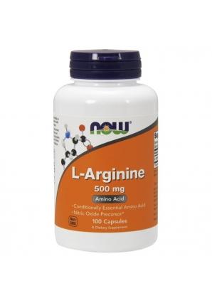 L-Arginine 500 мг 100 капс (NOW)