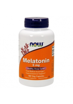 Melatonin 5 мг 180 капс (NOW)