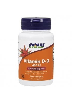 Vitamin D3 400 UI 180 капс (NOW)
