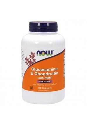 Glucosamine Chondroitin MSM 180 капс (NOW)