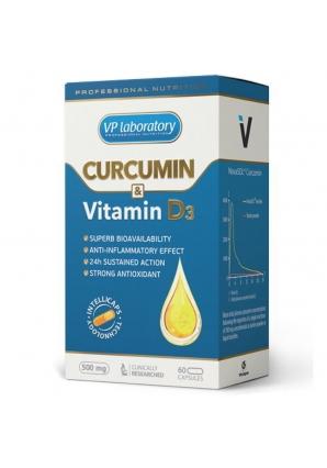 Curcumin & Vitamin D3 60 капс (VPLab)