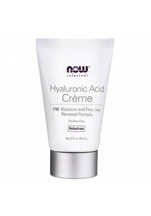 Hyaluronic Acid Cream 2 fl.oz. - 59 мл (NOW)